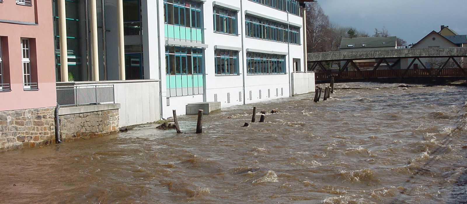 Hochwasser Flöha