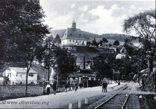 Oberneuschönberger Kirche 1921