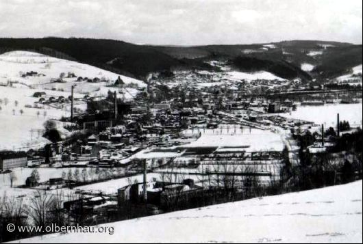 Grünthal im Winter um 1950