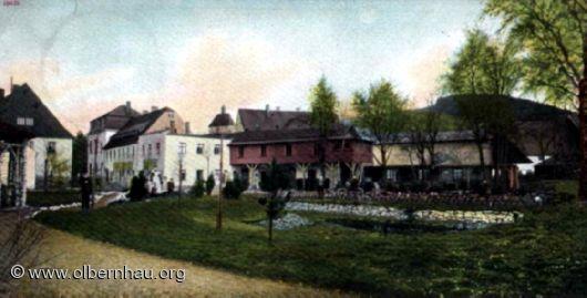 Hotel Kurhaus Schwefelbad um 1900