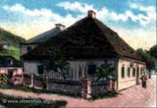 Zollamt Böhmisch-Grünthal um 1890
