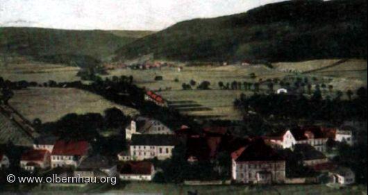 Böhmisch-Grünthal um 1900
