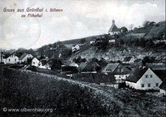 Böhmisch-Grünthal im Flöhatal