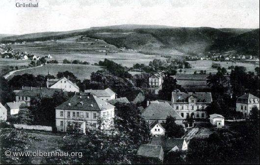 Böhmisch-Grünthal mit Brandau und Rothenthal