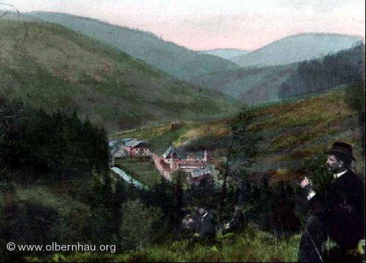 Gabriellahütten um 1890